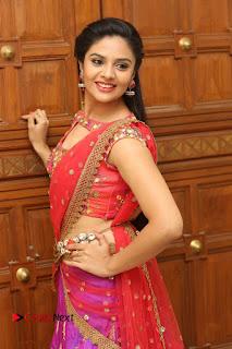Anchor Srimukhi Pictures in Half Saree at Aatadukundam Raa Movie Audio Launch  0029.JPG