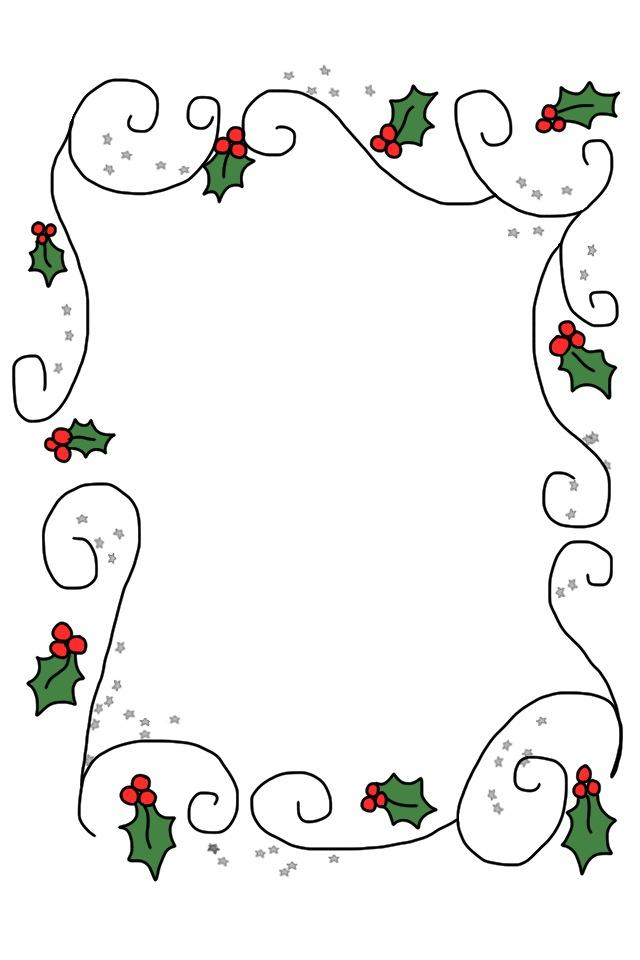 Cre8tive Hands: The Holly, poem and border