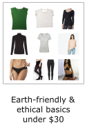 earth friendly and ethical basics under $30