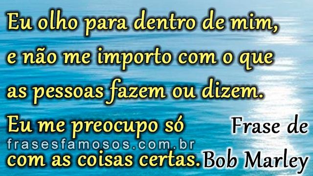 Frases Curtas De Bob Marley Frases E Imagens