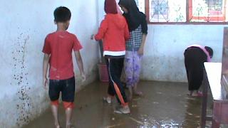 Di Luwu, Ratusan Siswa Tidak Melakukan Proses Belajar Mengajar