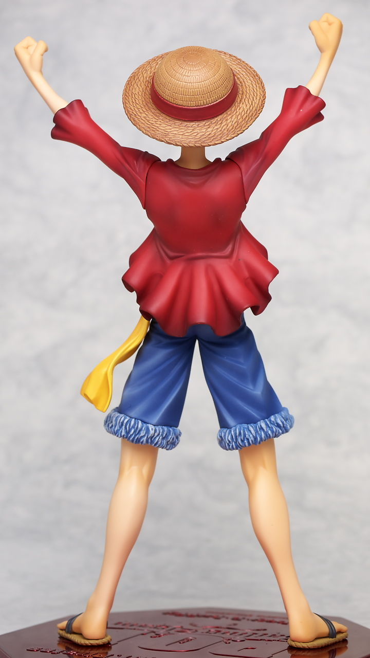 Portrait Of Pirates The Collection ZOOM Monkey D Luffy