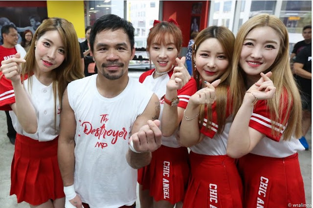 Pacquiao Gets Extra Motivation as He Trains For Broner