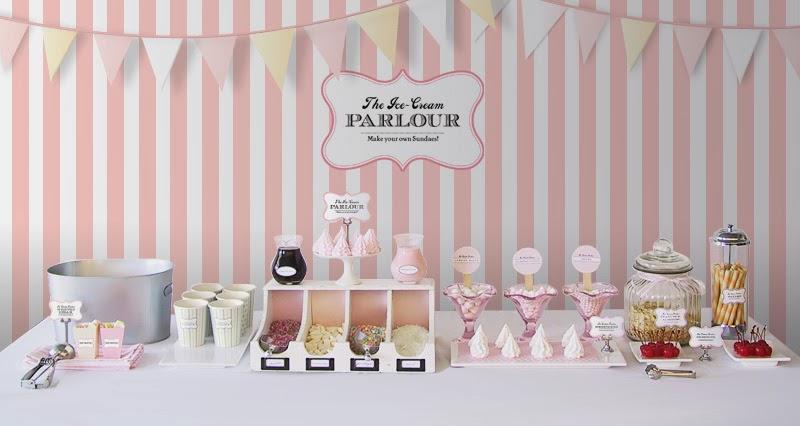 mesa sorvete
