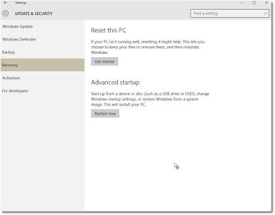 Cara Mudah Kembali dari Windows 10 ke Windows 7 atau 8