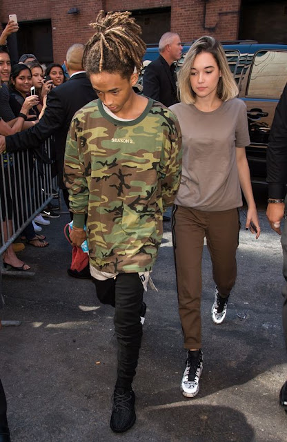 jaden smith look camuflagem