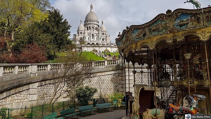 Basílica de Sacré Coeur - O que fazer em Paris: principais pontos turísticos