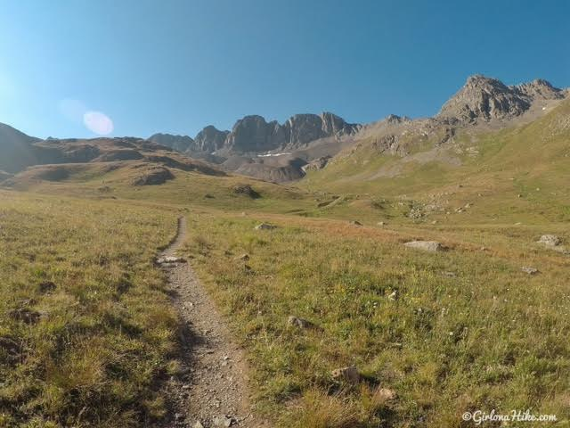 Hiking to Handies Peak, Colorado