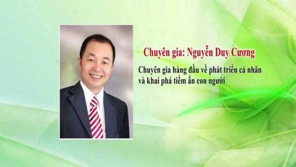 """Nguyễn Duy Cương là ai ? Thông tin chi tiết về diễn giả chương trình """"Cửa sổ vàng"""""""