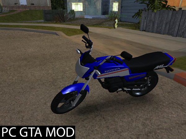 Free Download  Honda-ML-125  Mod for GTA San Andreas.