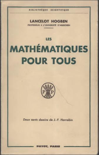 Livre : Les Mathématiques Pour Tous - Lancelot HOGBEN