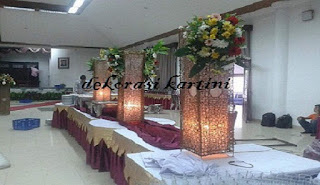 dekorasi kartini melayani order dekorasi pernikahan, aneka bunga ucapan, bunga potong, bunga papan