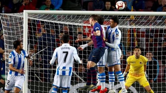 Fc Barcelona 2 - 1 Real Sociedad