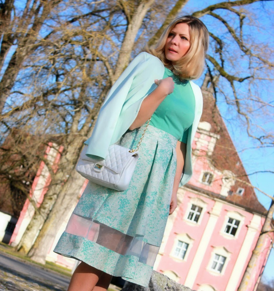 Orsay mint dress