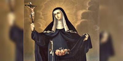 imagem de Santa Escolástica