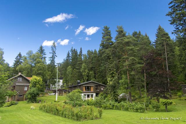 Lillomarka, Oslo por El Guisante Verde Project
