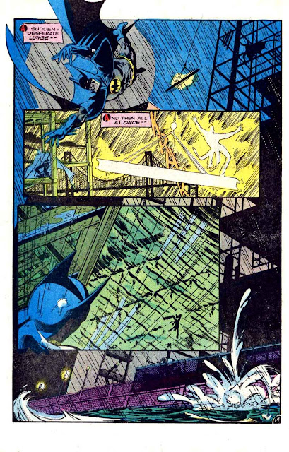 Detective Comics v1 #476 dc comic book page art by Marshall Rogers