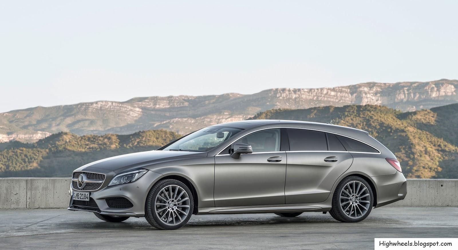 High Wheels 2015 Mercedes Benz Cls Class Shooting Brake