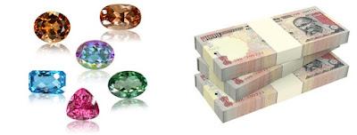gemstones attracts money - gemsratna