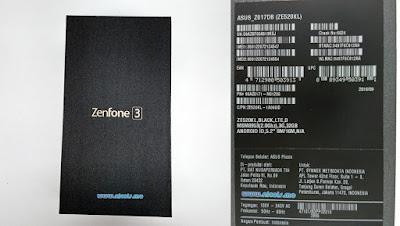 Penampakan Box ZE520KL