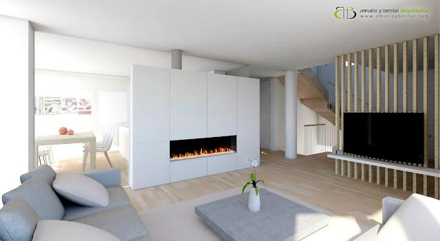 Reforma interior vivienda Amutio y Bernal Arquitectos Santa Cruz de Bezana Cantabria