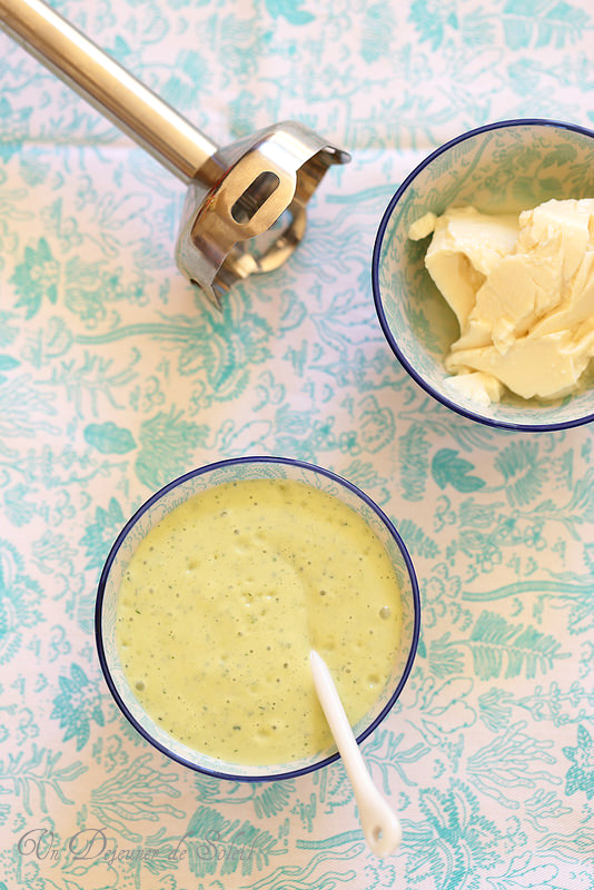 Mayonnaise minute sans oeufs au tofu (vegan)