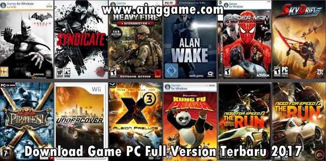 Download Game PC Full Version Terbaru 2017