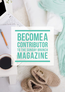 Contribute To The Sunday Brunch Magazine by Eliza Ellis and Mums Take Five