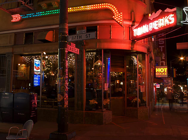 Bar Twin Peaks no bairro Castro em San Francisco
