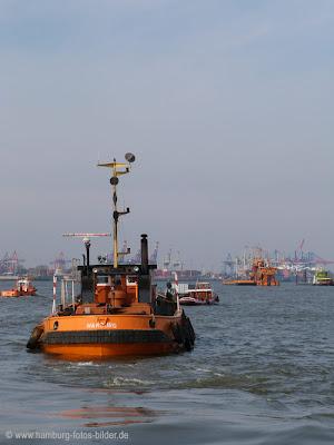 Hamburger Hafen - Schlepper