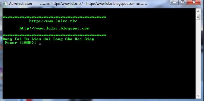 zxc - Source Tool DDOS BY Lulzc Version 2