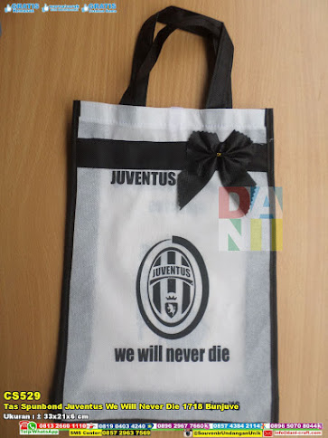 Tas Spunbond Juventus We Will Never Die 1718 Bunjuve