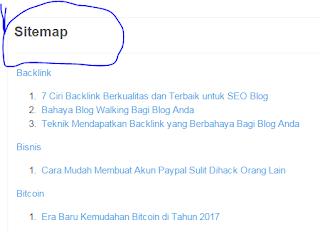 Cara Membat Daftar Isi Blog Terbaru 2017-Work !!!