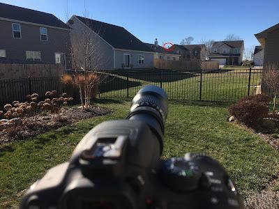 1000mm lens distant target