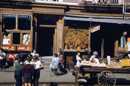 New York In The 1940s In Color Vintage Everyday