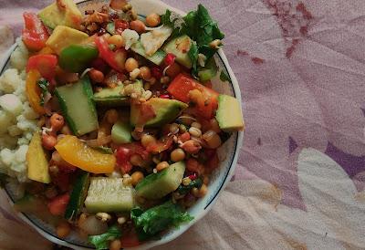 Right Iron Absorption Quick Salad