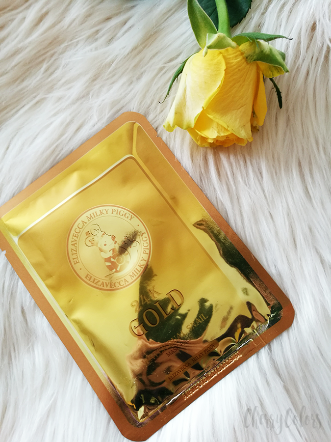 Elizavecca 24K Gold Sheet mask