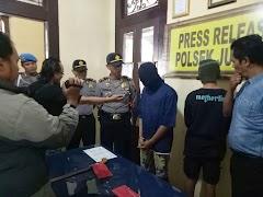 Unit Reskrim Polsek Juwana Ciduk Begal Yang Beraksi di Bajomulyo