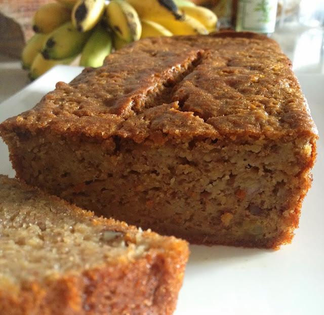 sweet Kwisine, gateau à la banane et aux noix, banana bread, cuisine antillaise, banane, Martinique