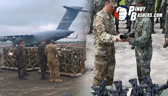 LOOK: AFP Binigyan Ng U.S Ng Mga Rockets At Armas Para Tapusin ang Maute Group