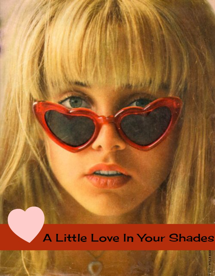 A Vintage Nerd Heart Sunglasses 1960s Heart Sunglasses Vintage Blog