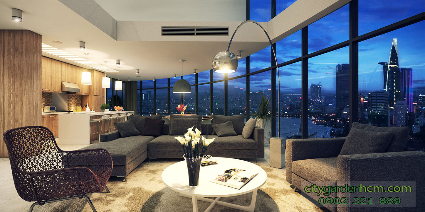 cần cho thuê căn hộ cao cấp city garden