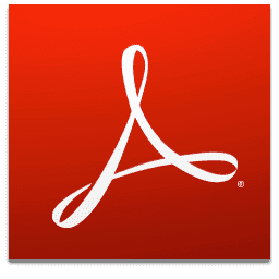 برنامج Adobe Acrobat Reader DC