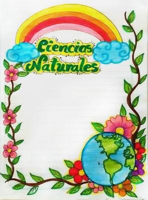 Portadas de ciencias naturales