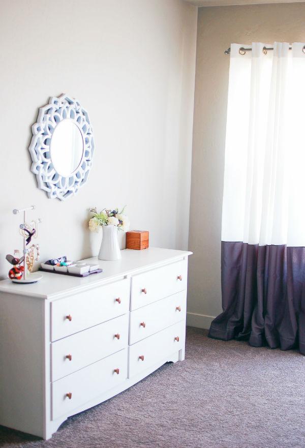 Master bedroom modern decor