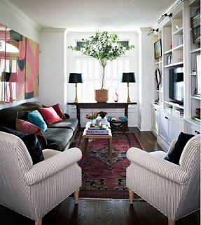 Simple Living Room Sofa for Small Space
