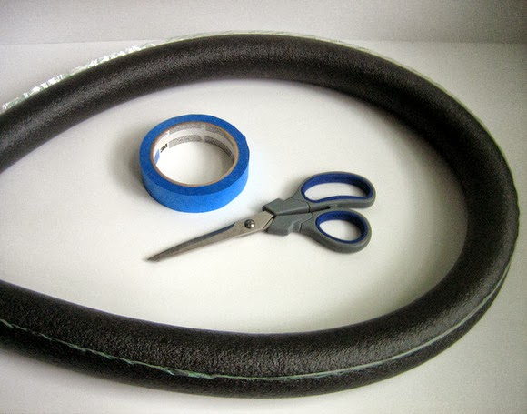 Scissors and tape