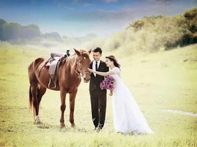 Nên chuẩn bị một số vật dụng trước khi chụp ảnh cưới ở bãi đá sông Hồng