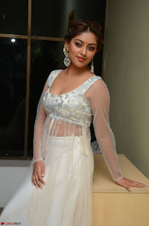 Anu Emmanuel in Transparent Cream Choli Ghagra at Kittu Unnadu Jagratha Gummadikaya function 26 Feb 2017
