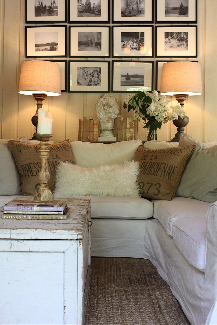 Living Room Feature Wall Decor: Sadie + Stella: Favorite Room Feature: My Sweet Savannah